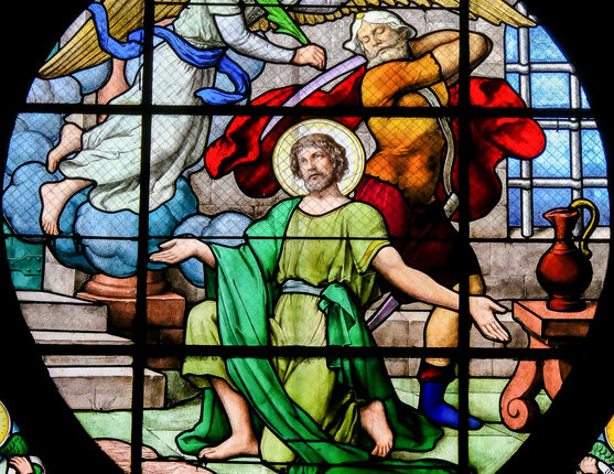 Beheading of Saint John the Baptist – Stained Glass