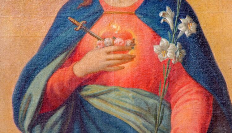 Trnava – Heart of Virgin Mary.