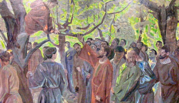 Christ and Zacchaeu
