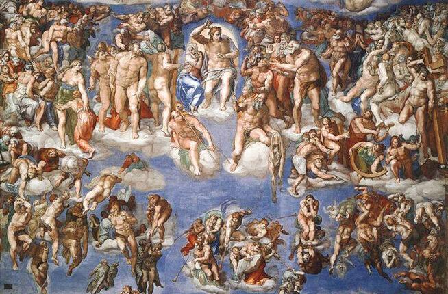 Michelangelo_Buonarroti_-_Jugement_dernier