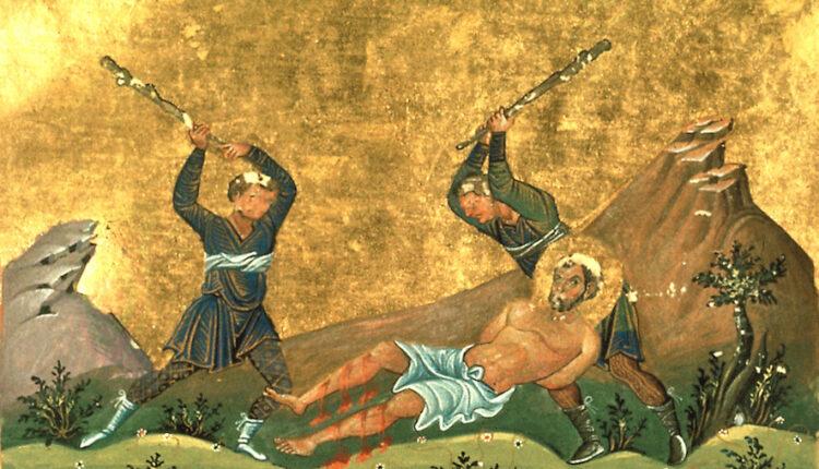Onesimus_of_Byzantium_(Menologion_of_Basil_II)