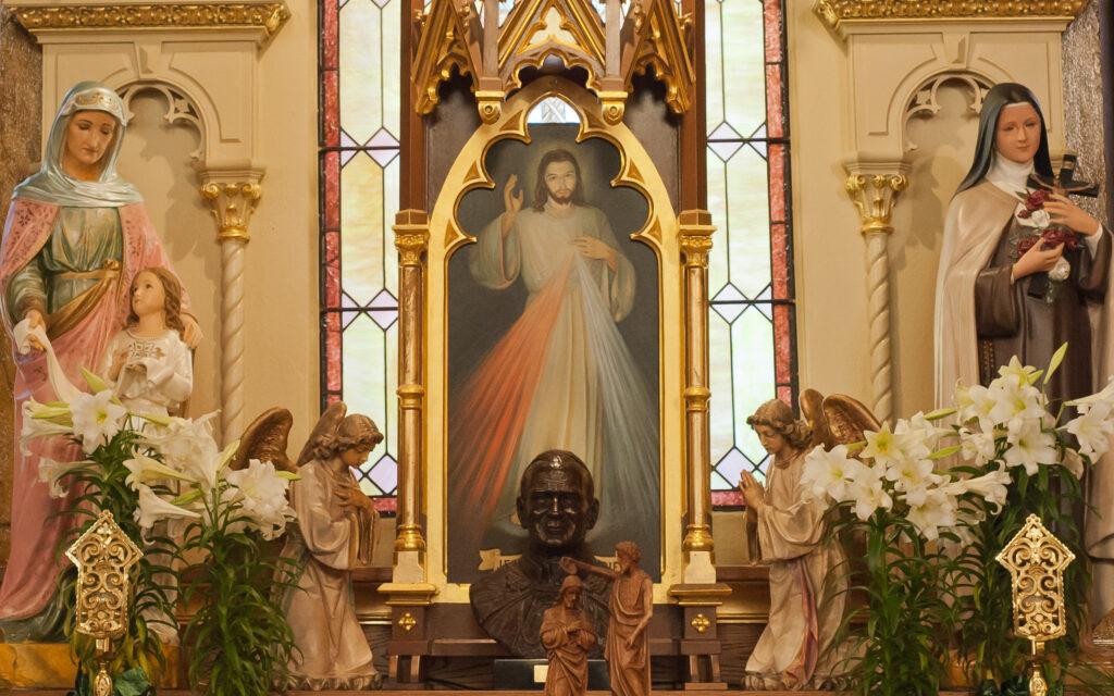 ST. FAUSTINA — Jesus…